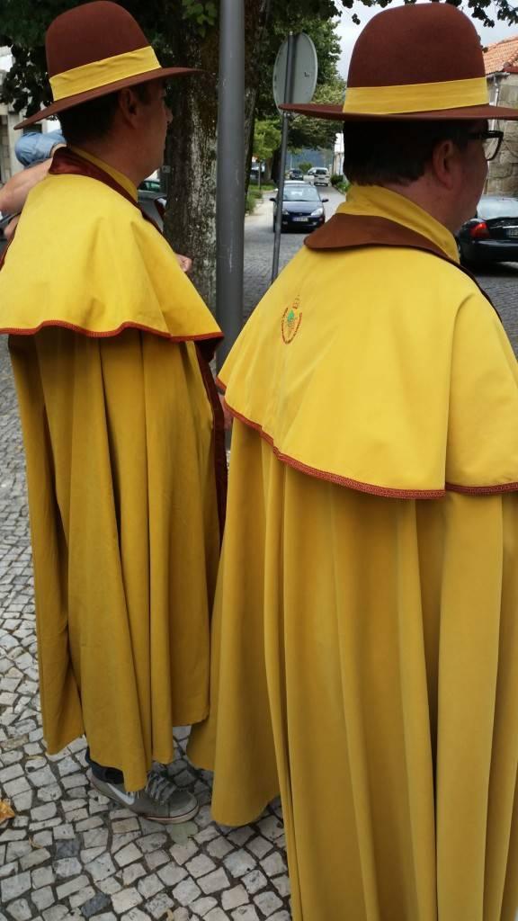 Os senhores da Cofraría Real do Alvarinho de Monçao-Melgaço.